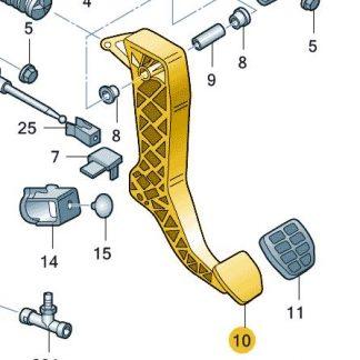 Clutch Pedal