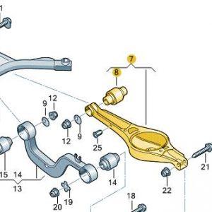 Rear Wishbone Arm