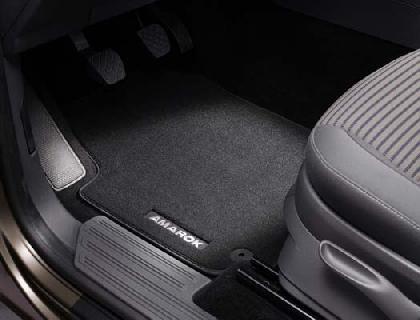 Amarok Rear Carpet Mats