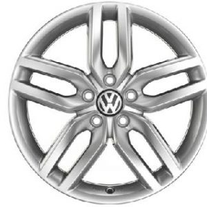 "Helix Alloy Wheel - 18"" Sterling Silver"