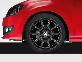"Polo [6R] Motorsport Alloy Wheel - 17"" Black"