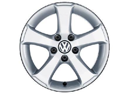 """Sima Alloy Wheel - 16"""" Brilliant Silver"""